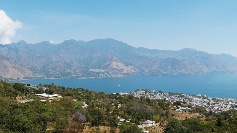 View on Lake Atitlan, Guatemala